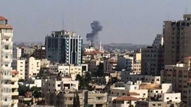 IDF airstrike on southern Gaza