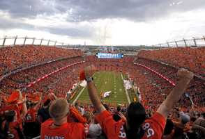 Forbes looked athometown crowd reach, TV ratings, stadium attendance based on capacity, NFL Shop merchandise sales and social media reach.