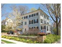 22 Fayerweather Street is on the market in Cambridge for $3.57 million.