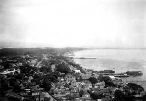Cape Cod National Seashore, Massachusetts. East from Pilgrim Monument in Provincetown. August 29, 1916.
