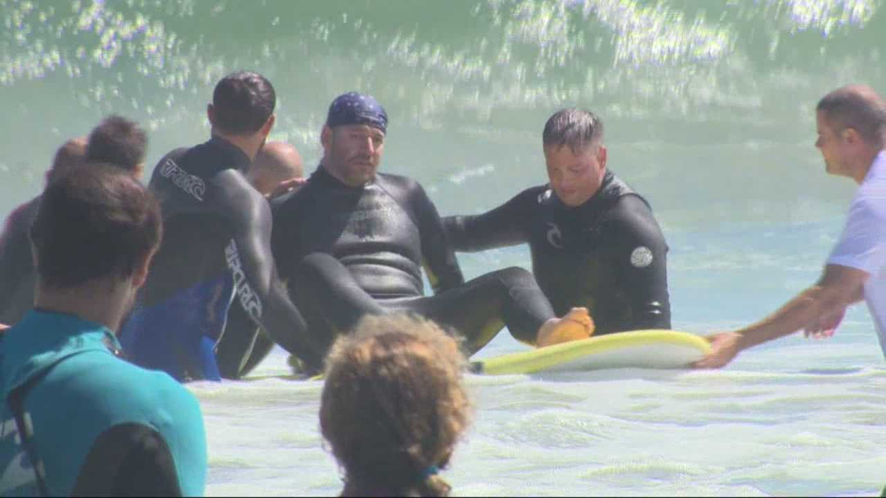 Wounded Warriors get the ride of their lives