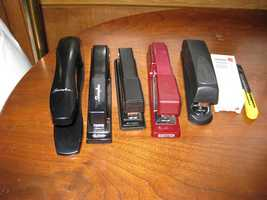You only need so many staplers.