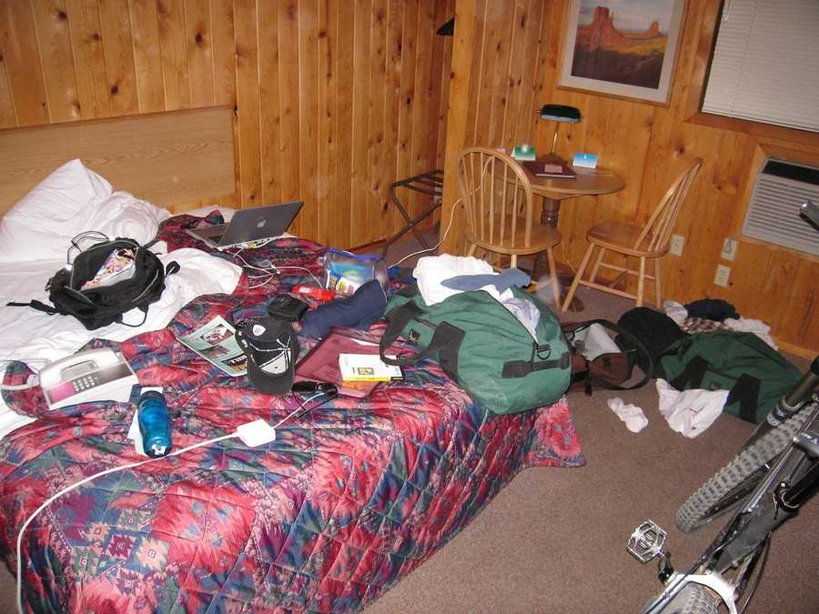 5. They don't have beds piled up with too much stuff.