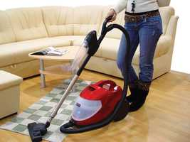 9. They dust and vacuum on the regular.