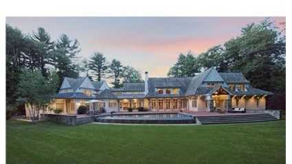 48 Ridge Hill Farm Road is on the market in Wellesley for $4.8 million.