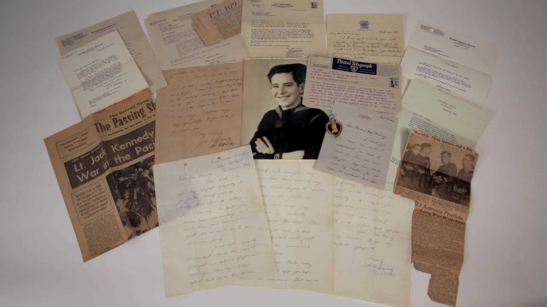 A collection of letters John F. Kennedy sent to the family of a lost PT-109 crewmate have sold for $200,000 at an auction.