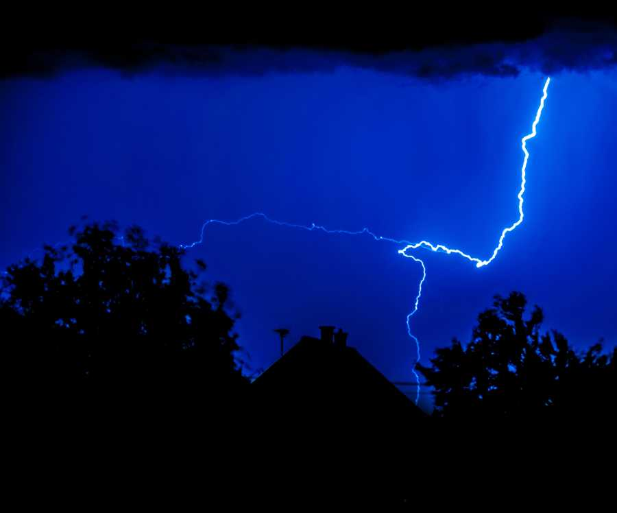 Myth: Lightning never strikes the same place twice.