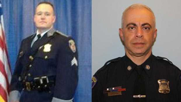 Det. Sgt. Phil Hurton (left) Det. Val Krishtal (right)