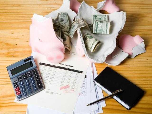 11.) Focus on being debt free