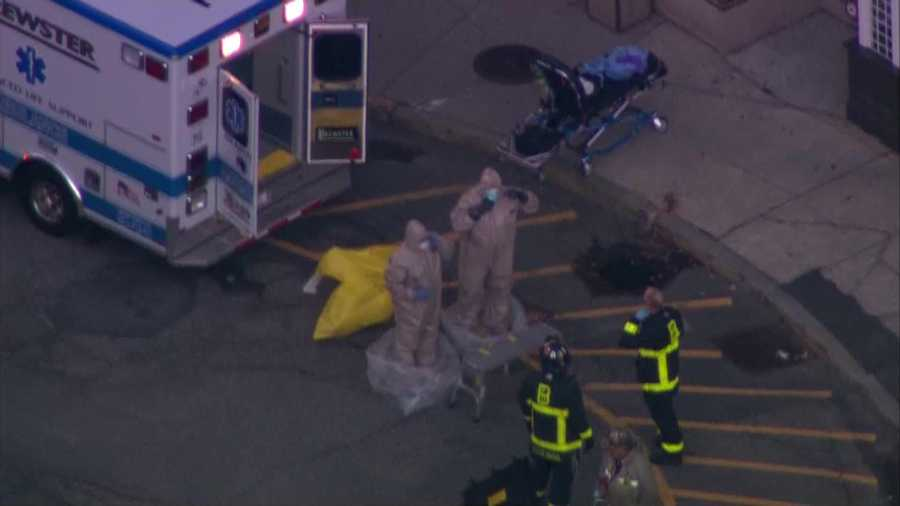 Officials say the team, comprised of two managers and four paramedics, transferred the patient from his vehicle, into an ambulance for transport to Beth Israel Deaconess Medical Center in Boston.