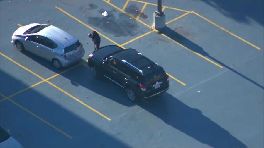 Sky 5 flew over the vehicle where the patient was asked to remain until an ambulance showed up to transport the patient to Beth Israel Deaconess Medical Center in Boston.