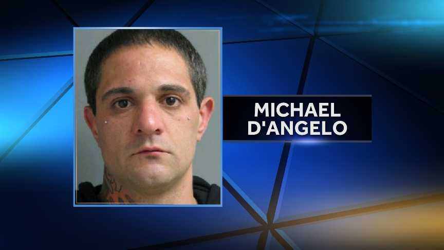 Michael D'Angelo, 32, of Springfield, Vermont is accused of driving 110 MPH on Interstate 91 Monday night. Vermont State Police say his 7-year-old son was improperly secured in the vehicle. D'Angelo is charged with excessive speed, negligent operation and cruelty to a child.