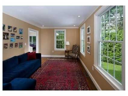 The home has more than 7,400 square feet of living space.