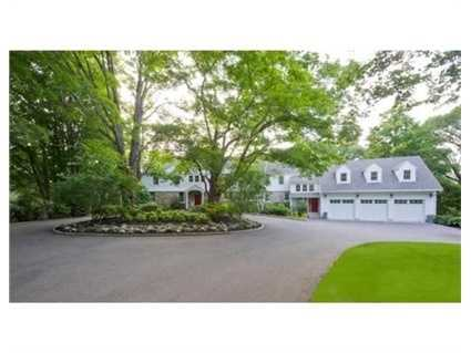 241 Greenwood Street is on the market in Newton for $3.3 million.