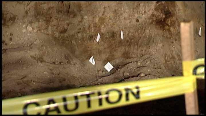 A construction crew doing work at a Maine town hall has made a surprising discovery: human remains.