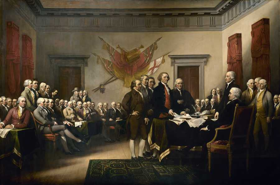 The Declaration of Independence was first publicly read in Massachusetts by Isaiah Thomas in Worcester in July 1776.