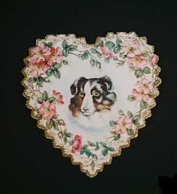 In 1847, the first commercial valentine was mass-produced in Worcester by Esther Howland.