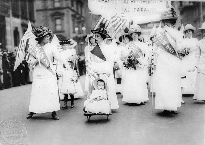 The first national convention of women advocating women's suffrage was held in Worcester on October 23 and 24, 1850.