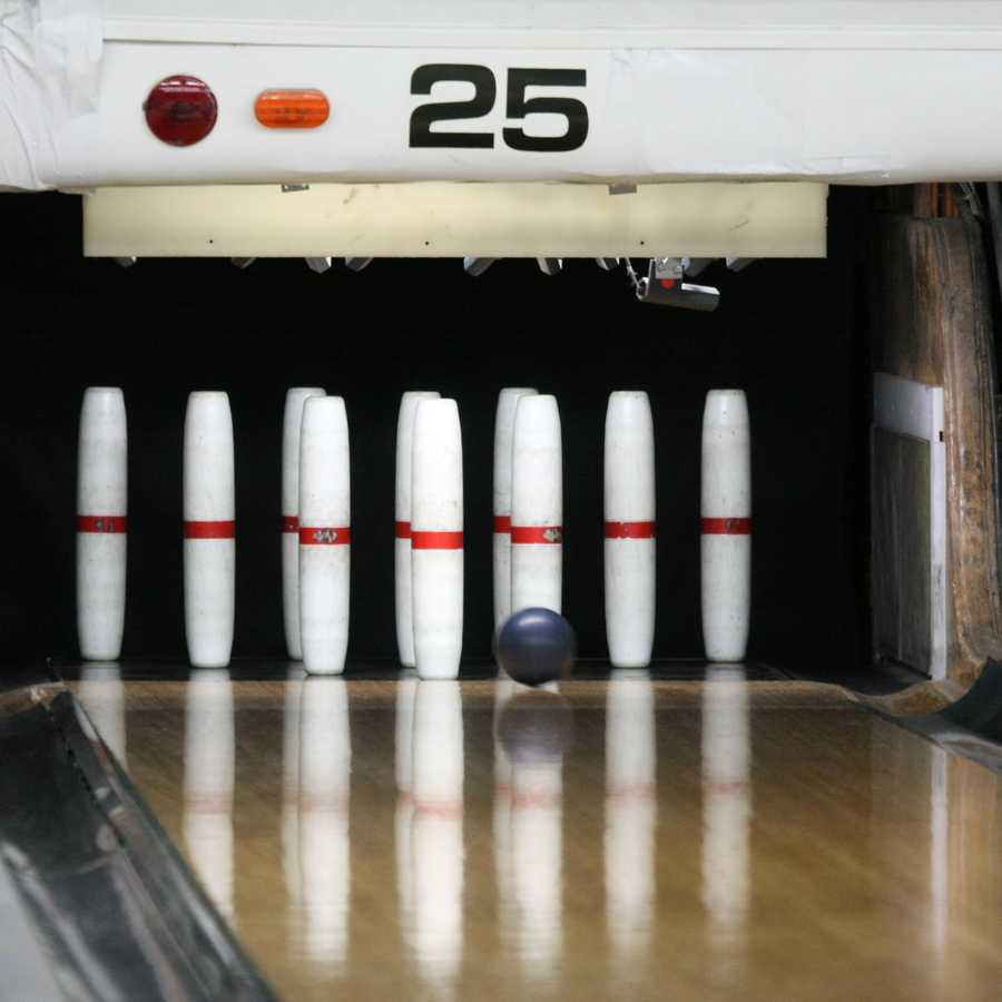 Candlepin bowling was first developed in Worcester in 1880.