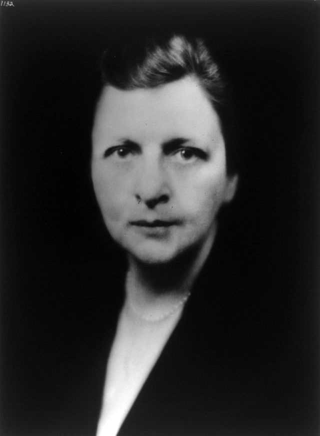 The first woman to serve on a president's cabinet was Frances Perkins, Franklin Roosevelt's Secretary of Labor. She was raised in Worcester.