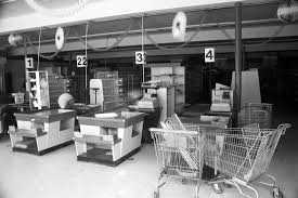 The first supermarket in America was at the corner of Main Street and Madison Street.  STOCK PHOTO FOR ILLUSTRATION ONLY