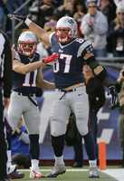 "During the 2013 season, after a spike in Edelman's production, Patriots quarterback Tom Brady gave him the nickname ""Minitron,"" a play on ""Megatron,"" the nickname for Detroit Lions' star wide receiver, Calvin Johnson."