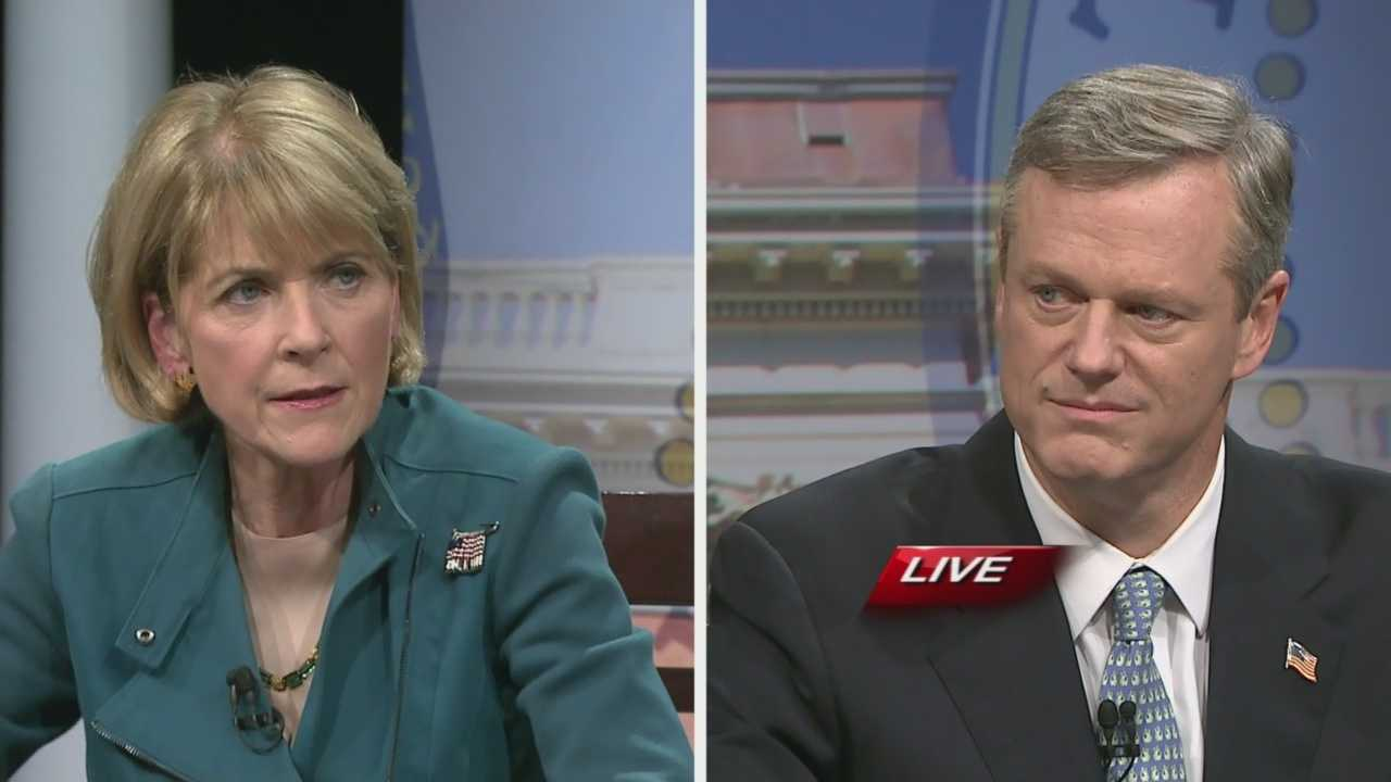Coakley asks Baker about outsourcing jobs