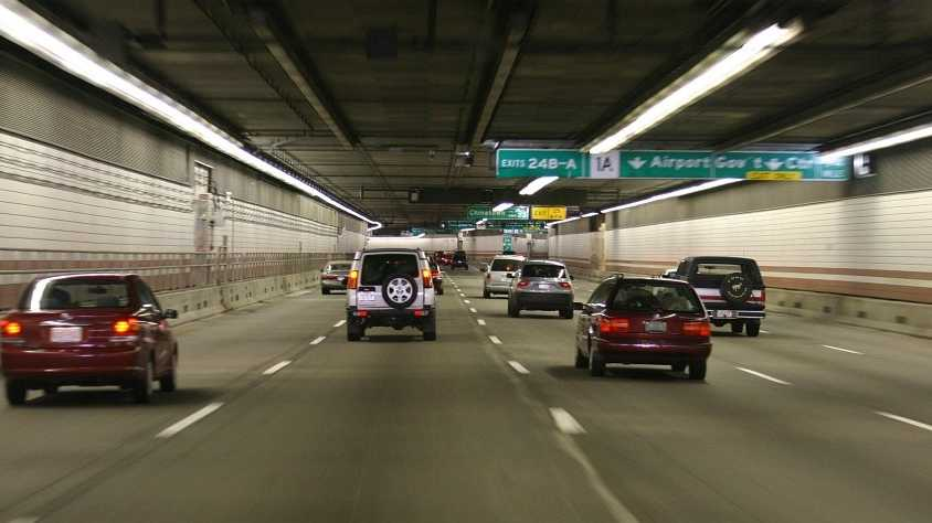 2003: The Big Dig tunnels, part of the most expensive highway project in U.S. history, open to traffic. This changes the look of the city with the elevated Central Artery being torn down.