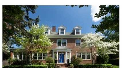 405 Commonwealth Avenue is on the market in Newton for $2.4 million.