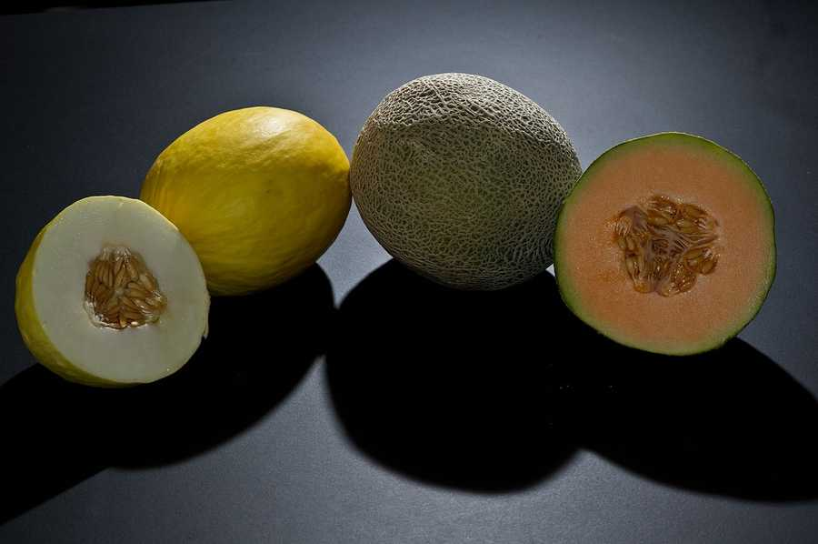 Bananas, melons, and stone fruits like peaches and nectarines are on the high-sugar side.