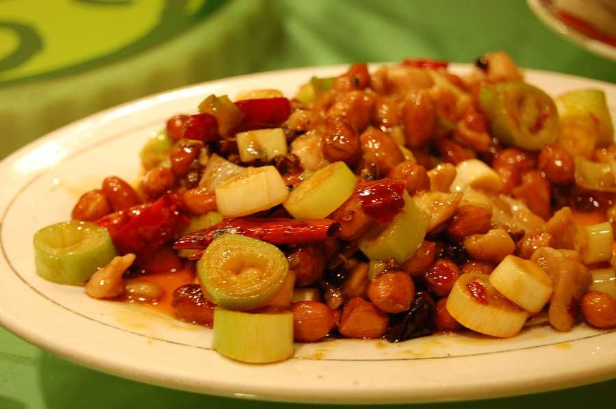 4.) Chinese food