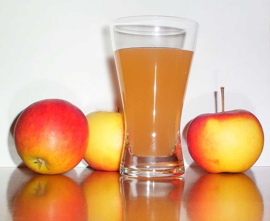9.) Fruit juice