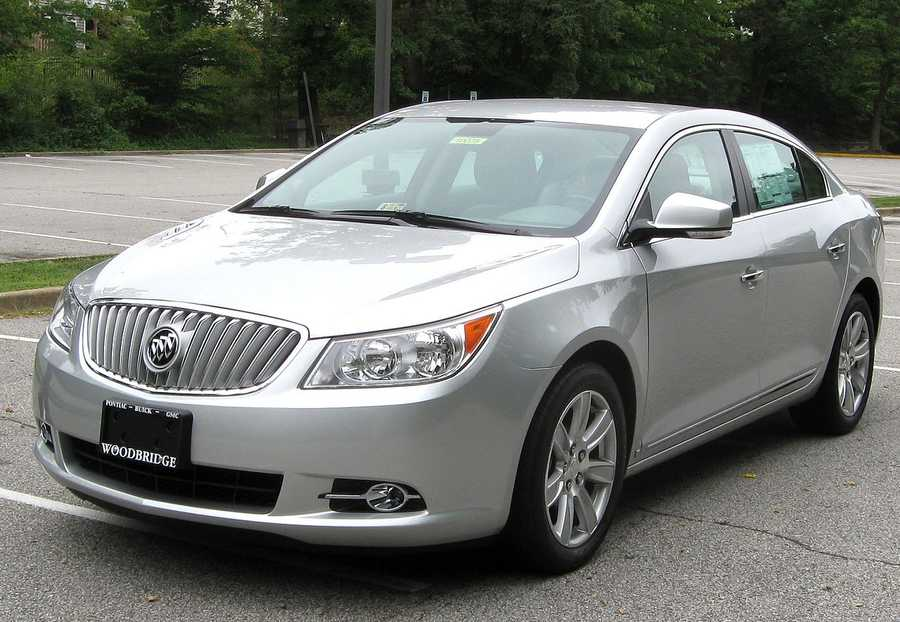 Buick LaCrosse (2010 and newer)
