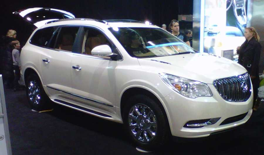 Buick Enclave (2011 and newer)