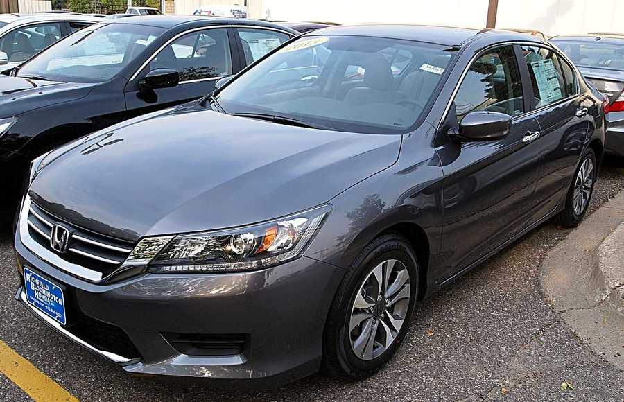 Honda Accord sedan (2012 and newer)&#x3B; coupe (2013-14)