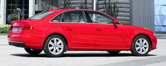 Audi A4 (2009 and newer)