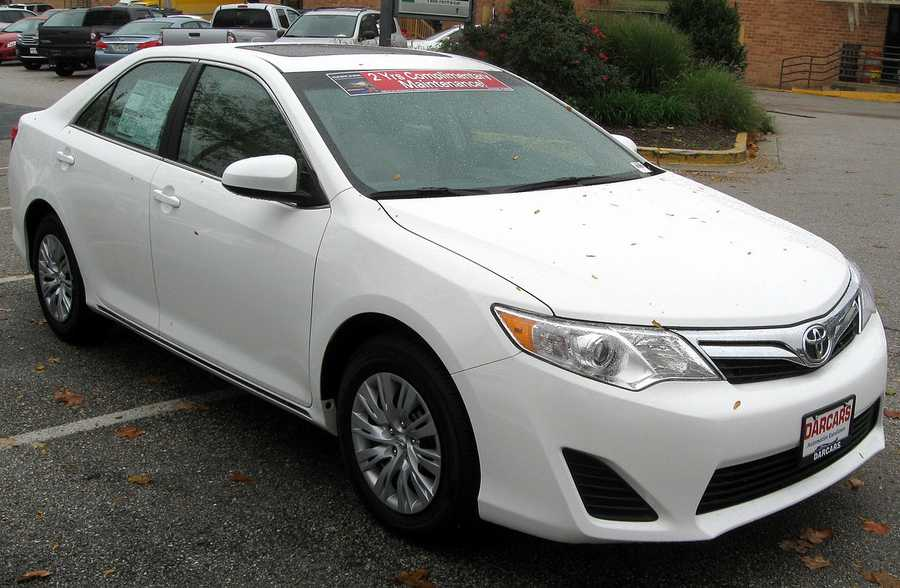 Toyota Camry (2012 and newer)