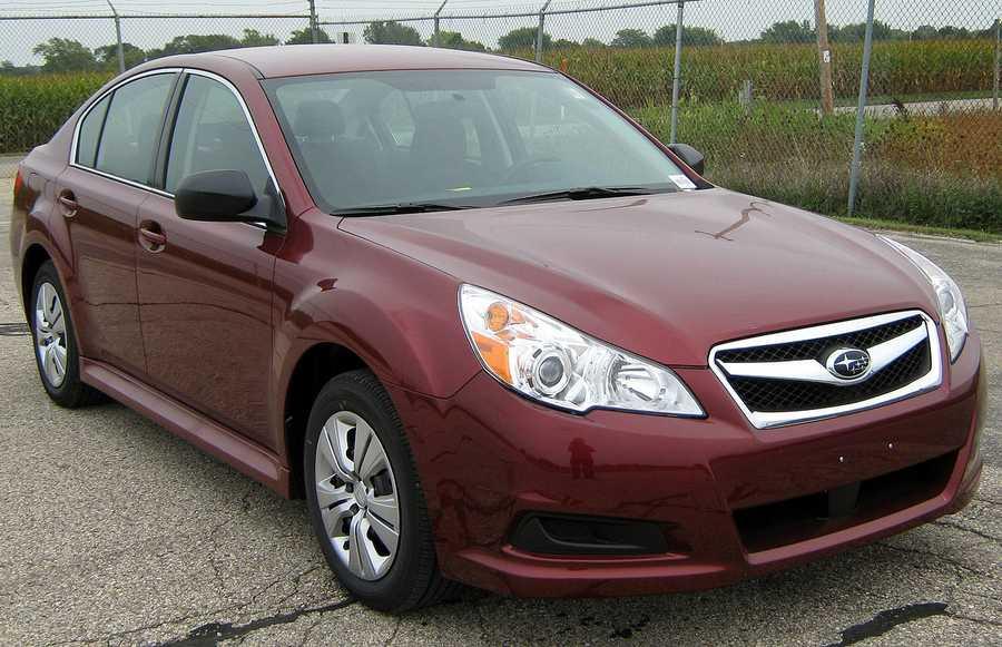 Subaru Legacy (2010 and newer)