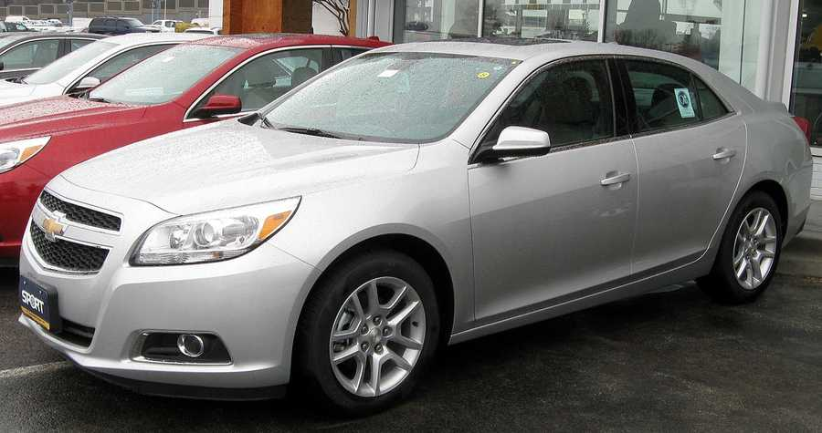 Chevy Malibu (2010 and newer, built after Nov. 2009)