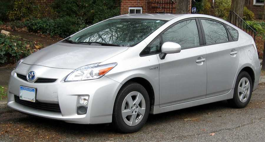 Toyota Prius (2012 and newer)