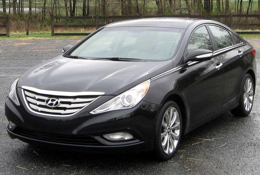 Hyundai Sonata (2011 and newer)