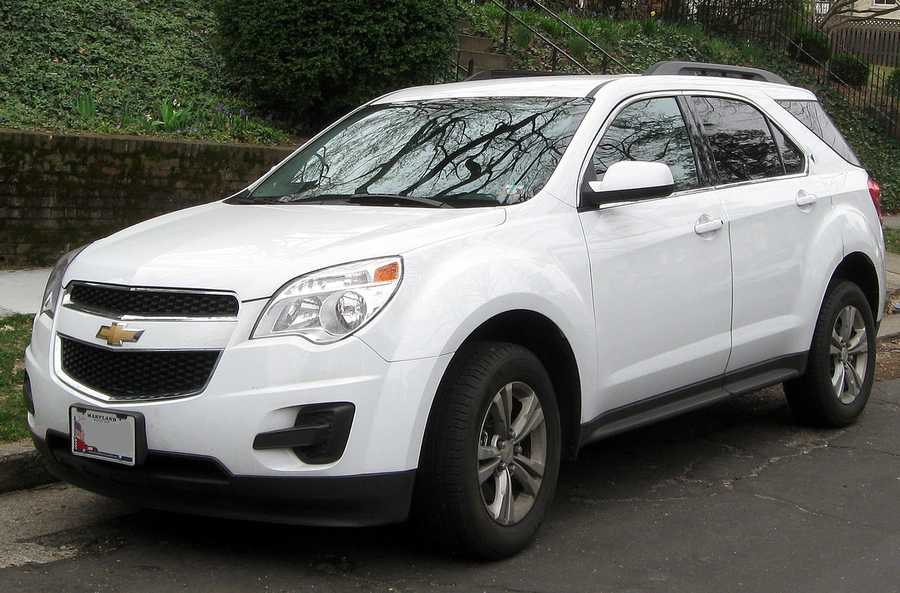Chevy Equinox (2010 and newer)