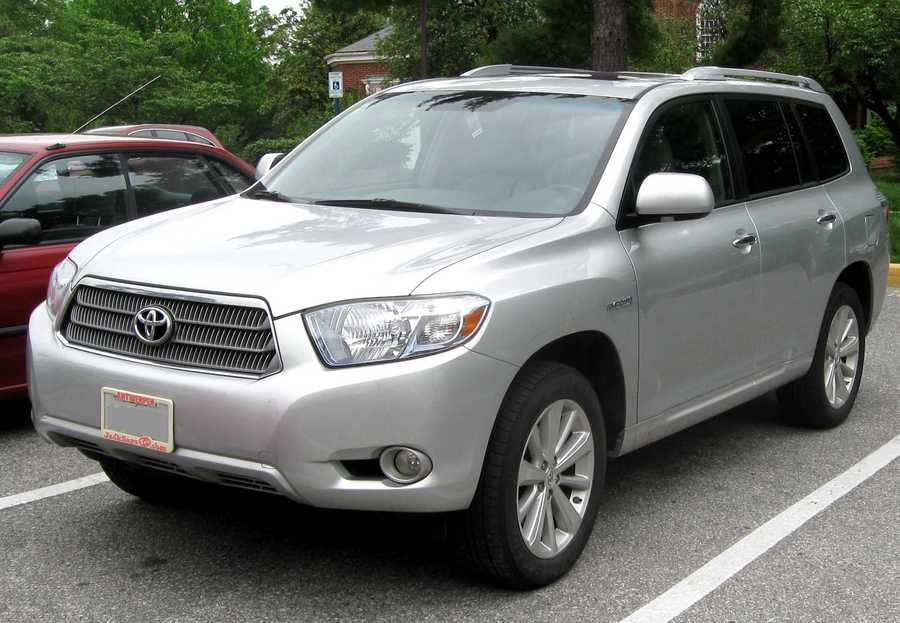 Toyota Highlander (2008 and newer)