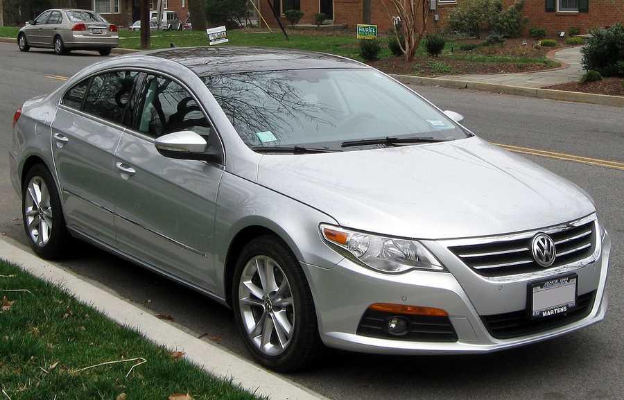 Volkswagen CC (2009 and newer)