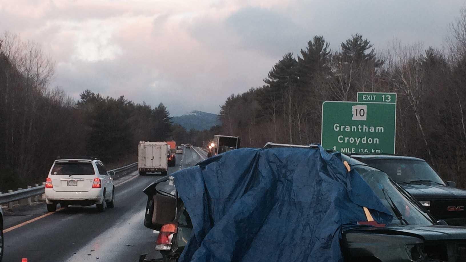 Interstate 89 in Grantham