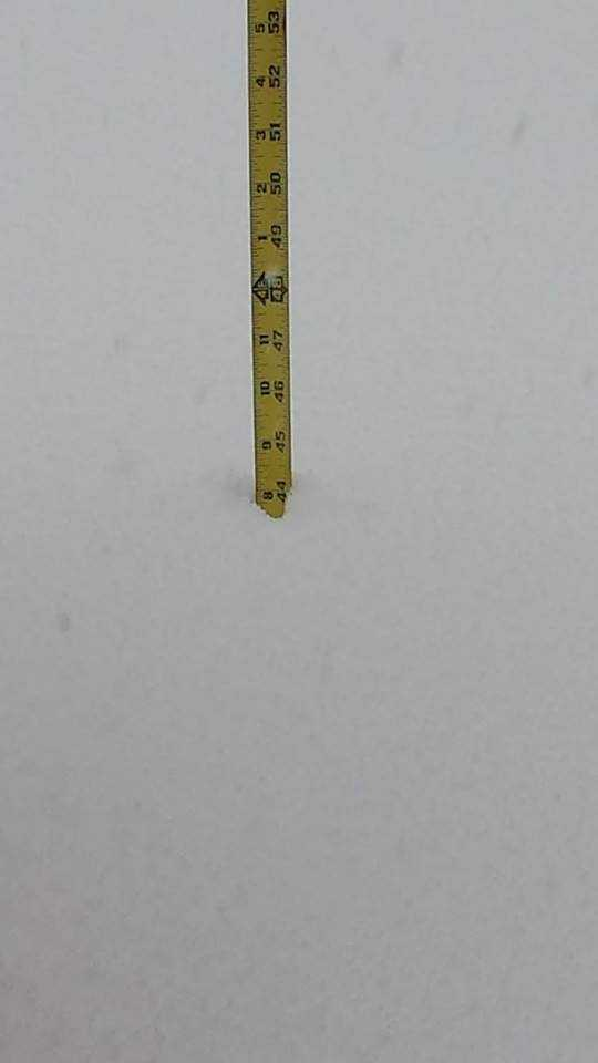 """Clifford Shine - """"West Seneca East reporting average snow depth of 41.5"""" as of 10am"""""""