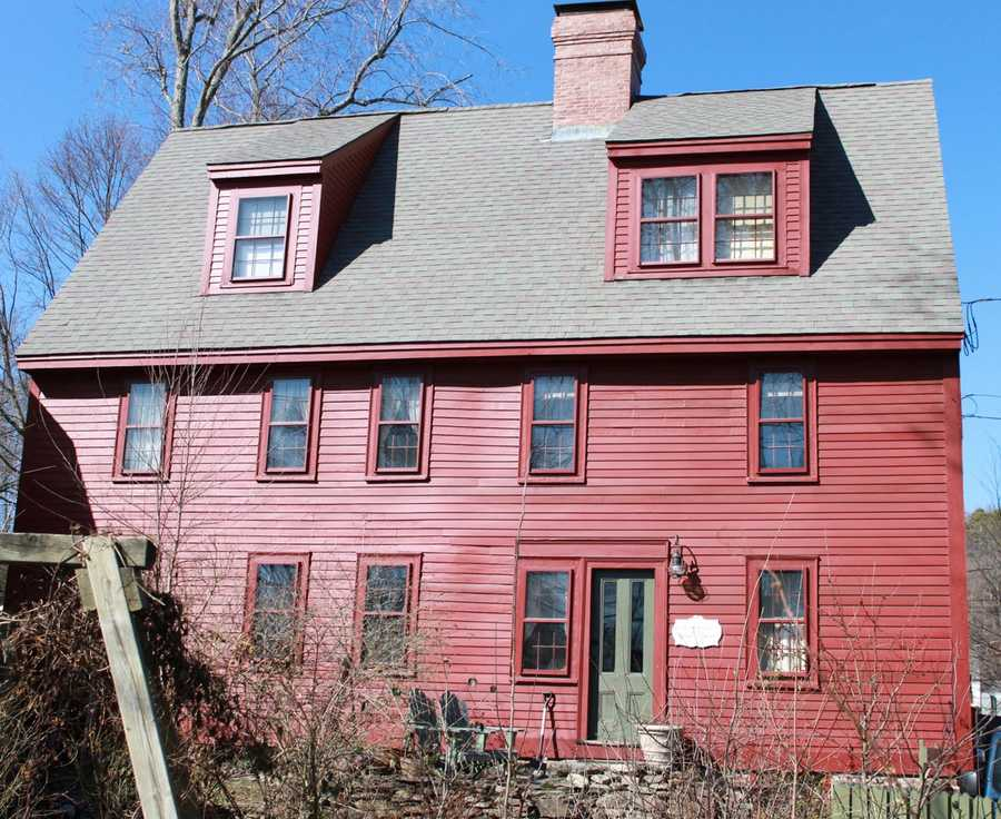 The Ephraim Harris House at the corner of Mineral and Central Streets is a first period home built in 1695. The original section of the house was moved to this location by Ephraim Harris, a builder.Read more at Historic Ipswich. All photos courtesy Gordon Harris, Town Historian.  Read his blog on Ipswich historic homes.