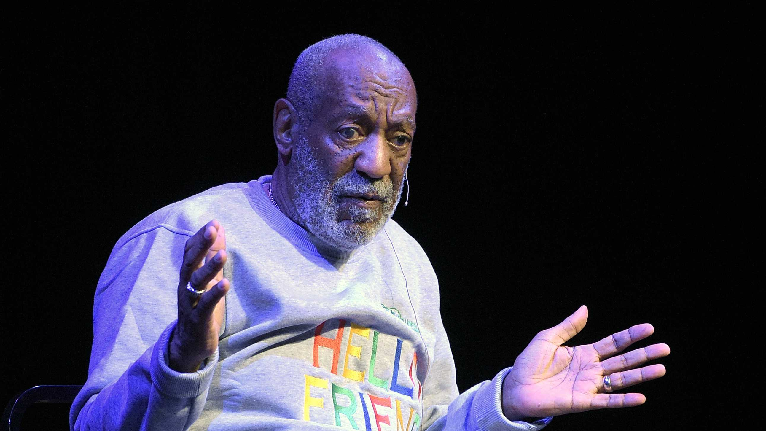 Comedian Bill Cosby performs at the Maxwell C. King Center for the Performing Arts, in Melbourne, Fla., Friday, Nov. 21, 2014.