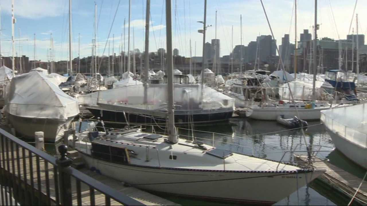 A Dorchester man was arrested this week after he allegedly attempted to steal several things from a houseboat docked in Charlestown.