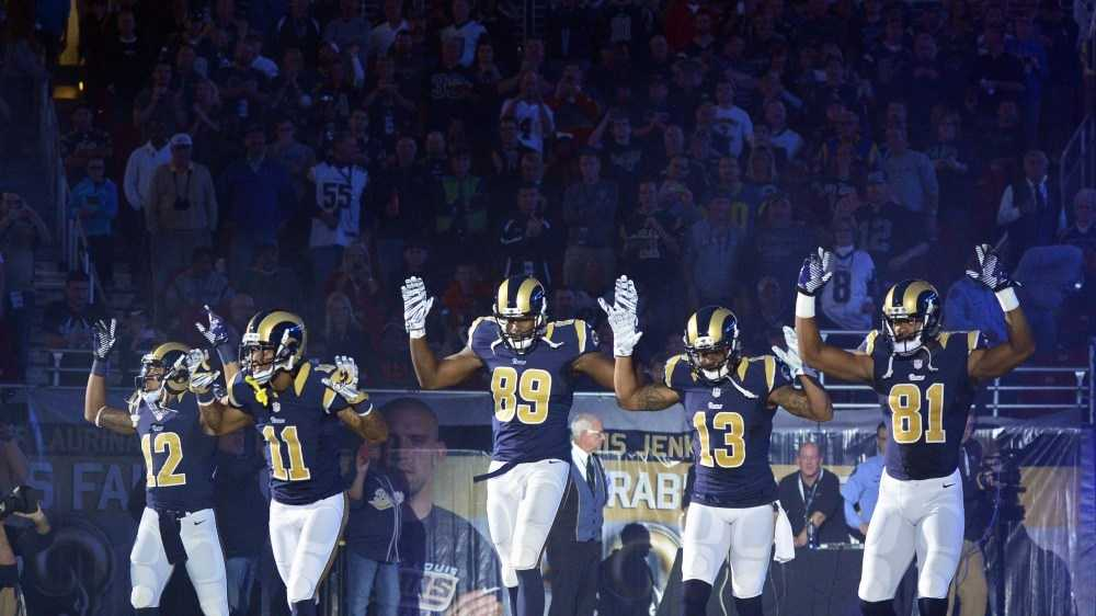 "The ""Hands-up. Don't shoot!"" gesture that five St. Louis Rams made during pregame wasn't the first time athletes have used their platform to make political statements.Here's a short list of some of the most famous moments:"